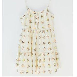 BNWT UO Tiered Spaghetti Strap Summer Floral Dress